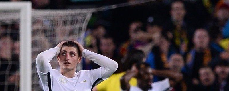 La défaite du PSG contre Barcelone