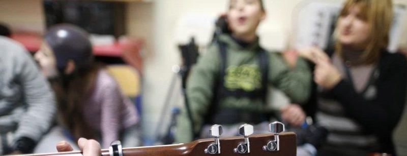 Cours de musique pour les personnes handicapées