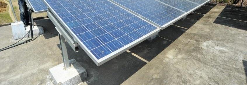 Des panneaux solaires à la rescousse d'un village