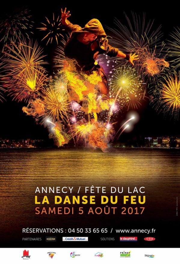 Affiche de la fête du lac 2017