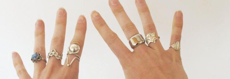 Des bijoux en argent bien entretenus