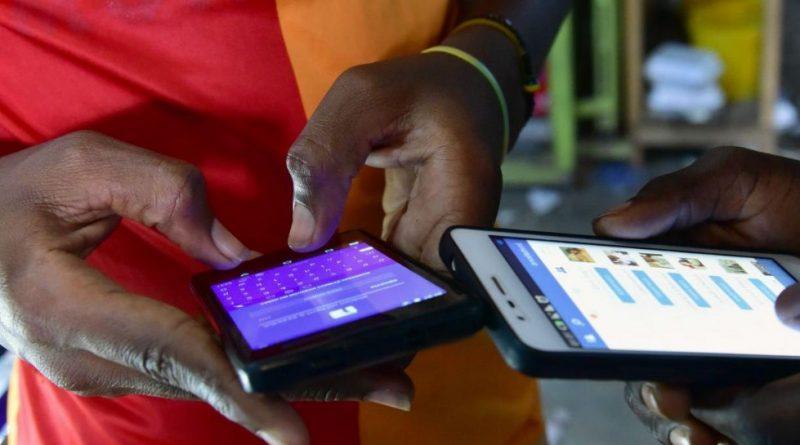 Smartphones en Afrique
