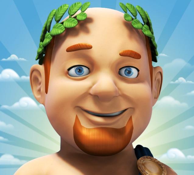 Un personnage du jeu Ikariam