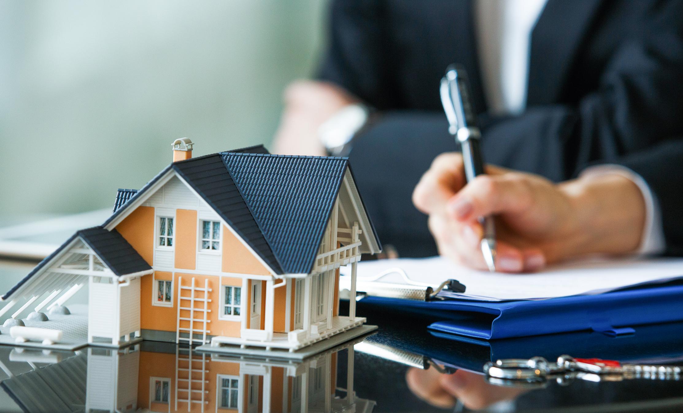 Signature d'un bail immobilier
