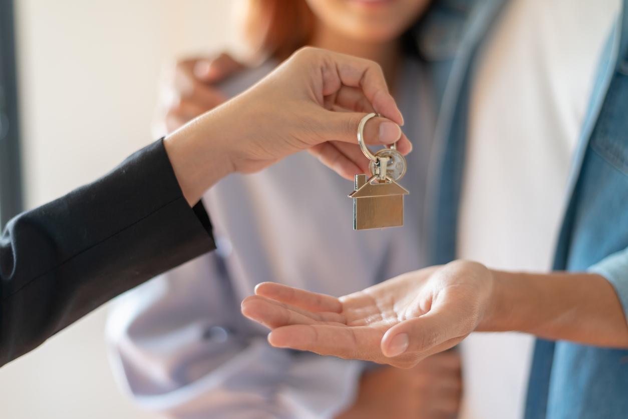 Transmission de clés lors d'un achat immobilier