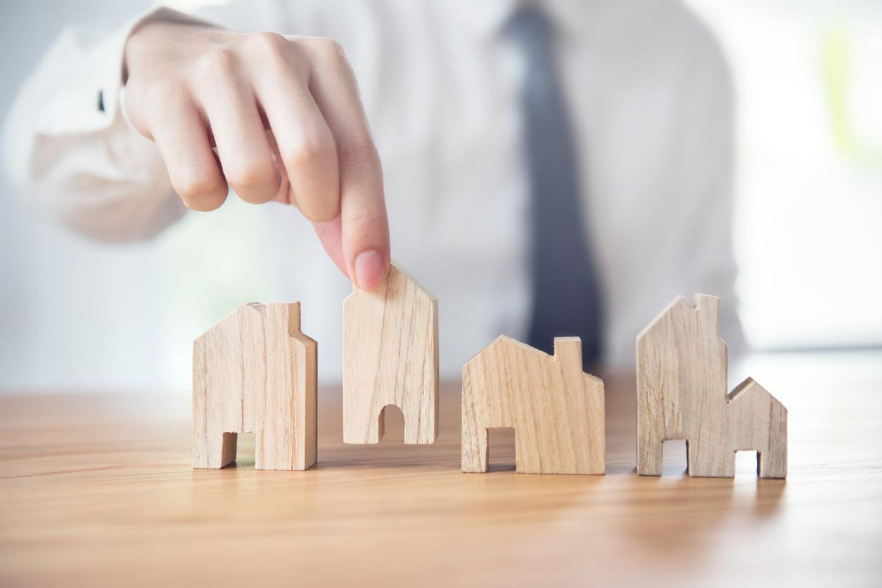 Des miniatures maison en bois