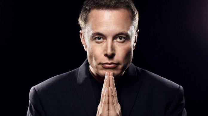 Elon Musk jeune