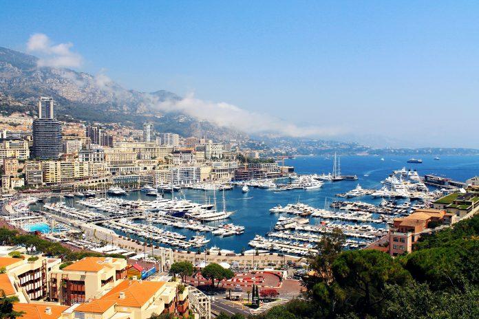 paysage Monaco port